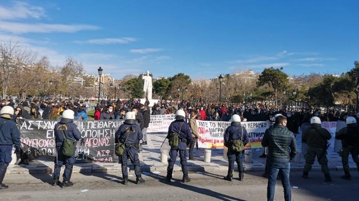 Συγκεντρώσεις διαμαρτυρίας για το ν/σ του υπουργείου Παιδείας