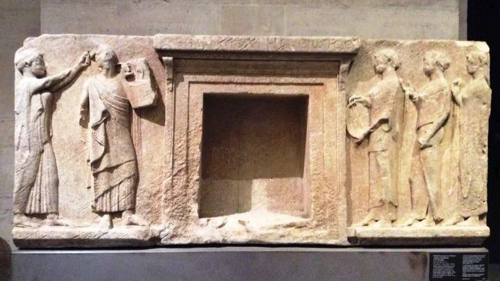 Δύο εκμαγεία σημαντικού μνημείου μεταφέρθηκαν από το Λούβρο στο αρχαιολογικό μουσείο της Θάσου