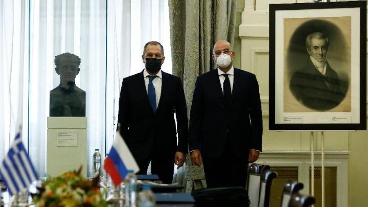 Οι σχέσεις Ελλάδας-Ρωσίας στην επικοινωνία Ν. Δένδια- Σ. Λαβρόφ