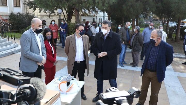 Εξοπλισμός στα νοσοκομεία της Κ. Μακεδονίας για την αντιμετώπιση του κορονοϊού