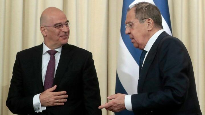 Επικοινωνία Δένδια-Λαβρόφ για διμερείς σχέσεις, Ανατ. Μεσόγειο και σχέσεις ΕΕ-Ρωσίας