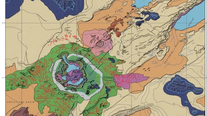 Ο πρώτος υποθαλάσσιος γεωμορφολογικός χάρτης της Σαντορίνης…από άλλο πλανήτη