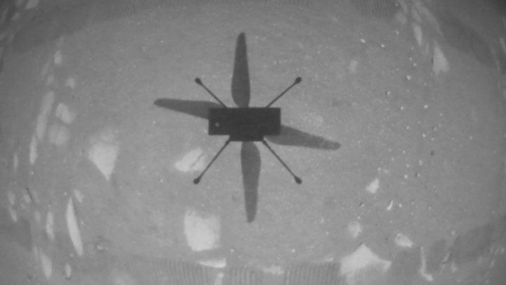 Το ελικόπτερο Ingenuity της NASA πραγματοποίησε ιστορική πτήση στον πλανήτη Άρη