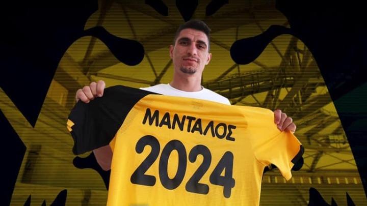 Έως το 2024 στην ΑΕΚ ο Μάνταλος