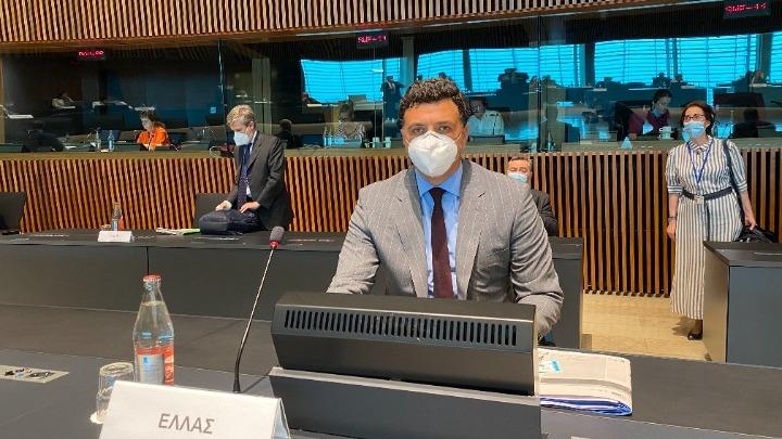 Β.Κικίλιας στο Συμβούλιο Υπουργών Υγείας της ΕΕ: Μόνο με κοινό πλαίσιο η αντιμετώπιση της πανδημίας μπορεί να είναι επιτυχής
