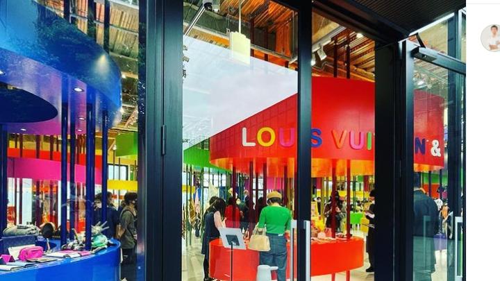 Nέα μπουτίκ στο Τόκιο για την έκθεση «Louis Vuitton &»