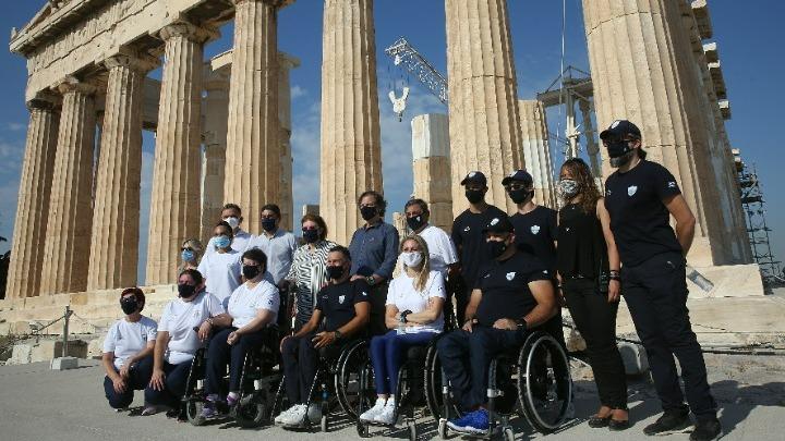 Στην Ακρόπολη η Παραολυμπιακή Ομάδα
