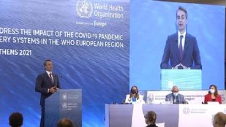 Ομιλία του Κυρ. Μητσοτάκη σε διεθνές συνέδριο για τις συνέπειες της πανδημίας στην ψυχική υγεία
