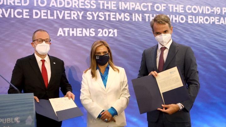 Υπεγράφη από τα 53 κράτη του Π.Ο.Υ. Ευρώπης η Διακήρυξη της Συνόδου των Αθηνών