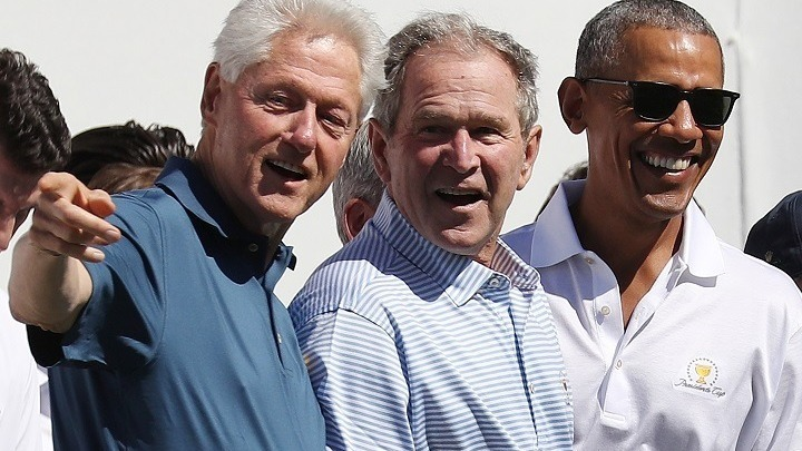 Οι πρώην πρόεδροι Μπους, Κλίντον, Ομπάμα ενώνουν τις δυνάμεις τους για να βοηθήσουν τους Αφγανούς πρόσφυγες