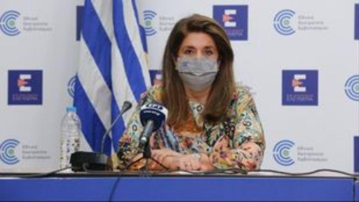 Β. Παπαευαγγέλου: Ύφεση της πανδημίας αλλά ας μην εκπλαγούμε αν δούμε αύξηση των κρουσμάτων τις επόμενες εβδομάδες καθώς τα τεστ θα αυξηθούν